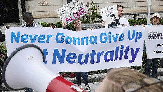 Ist das der Anfang vom Ende der Netzneutralität? (Bild: AFP)