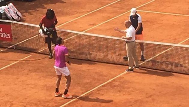 Thiem - Nadal: Hier marschieren die Superstars ein (Bild: Franz Hollauf)