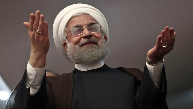 Hassan Rohani (Bild: AFP)