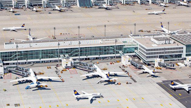 Der Münchner Flughafen aus der Vogelperspektive (Bild: Flughafen München)