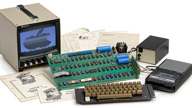 """""""Apple I""""-Computer für 110.000 Euro versteigert (Bild: Auction Team Breker)"""