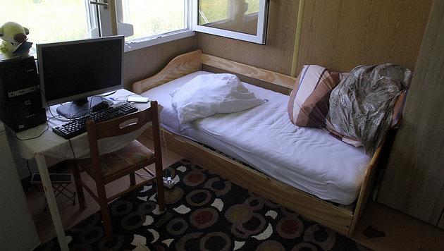 Der Schlafplatz des verhafteten Afghanen (Bild: Andi Schiel)