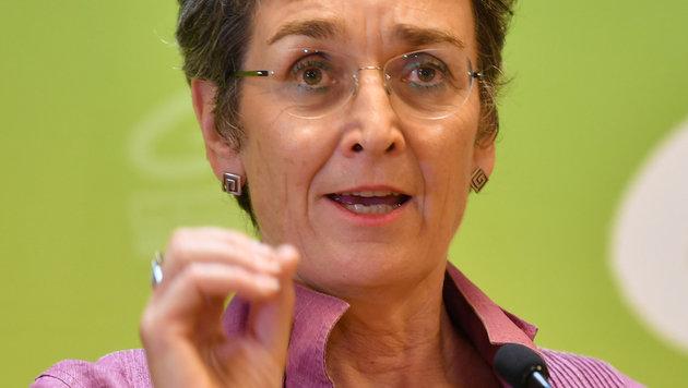 Die Spitzenkandidatin der Grünen, Ulrike Lunacek (Bild: APA/BARBARA GINDL)