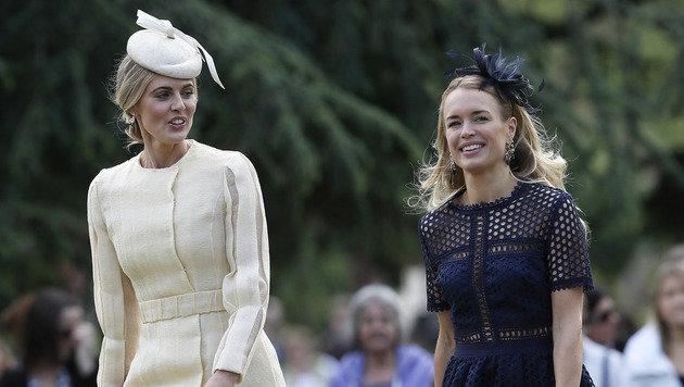 TV-Star Donna Air, die Freundin von Kates und Pippas Bruder James Middleton (Bild: AP)