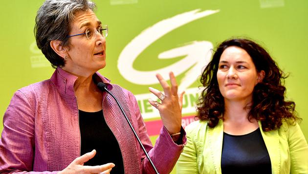 Lunacek will Glawischnigs Politik weiterführen (Bild: APA/Barbara Gindl)