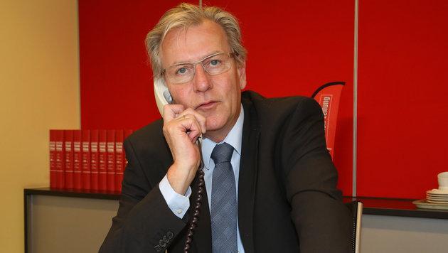 Krisensitzung beim Landesschulrat rund um OÖ-Landesschulratspräsident Fritz Enzenhofer. (Bild: Kronen Zeitung/Chris Koller)