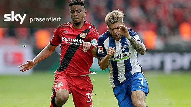 Bayer Leverkusen siegt bei Hertha 6:2 - das Video (Bild: AP)