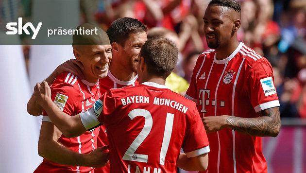 Bayern gewinnen gegen Freiburg - das Video (Bild: AFP)