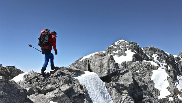 Bergtraining für Laufevent (Bild: Hannes Wallner)