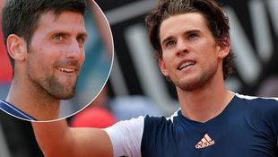 Dominic Thiem von Djokovic völlig vorgeführt! (Bild: AFP)