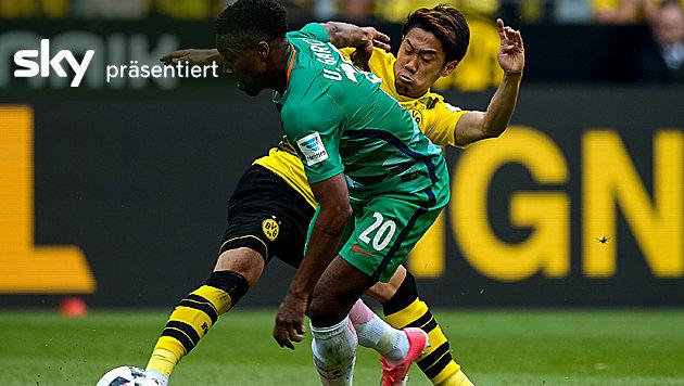Dortmund gewinnt Krimi gegen Werder - das Video (Bild: AFP)