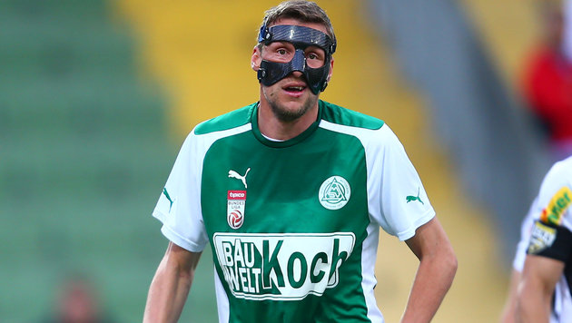 Maskenmann Höller schießt Mattersburg zum Sieg! (Bild: GEPA)