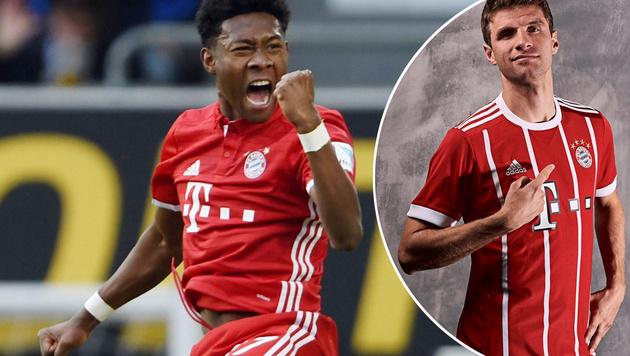 Neues Bayern-Trikot sorgt für viel Aufsehen! (Bild: GEPA, twitter.com)