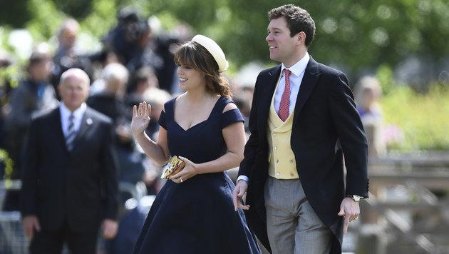 Prinzessin Eugenie und Jack Brooksbank (Bild: AFP)