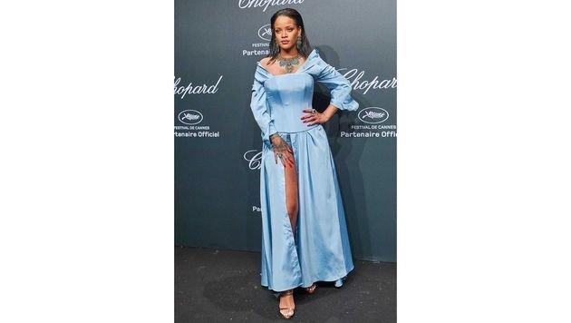 """Rihanna Loves"": Popstar Rihanna hat eine eigene Chopard-Schmuckkollektion. (Bild: Starpix/Alexander Tuma)"