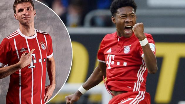 Neues Bayern-Trikot sorgt für viel Aufsehen! (Bild: GEPA)