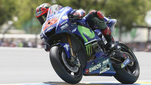 20. Sieg von Vinales ++ Stürze von Rossi & Marquez (Bild: Associated Press)