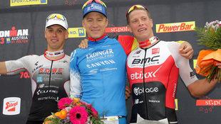 Deutsche Siege bei Ironman 70.3 in St. Pölten (Bild: GEPA)