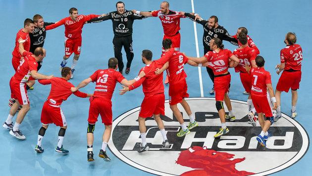 "Hard siegt im Halbfinal-""Krimi"" gegen Westwien! (Bild: GEPA pictures)"