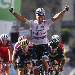 Jungels siegt auf 15. Etappe - Dumoulin in Rosa (Bild: AFP)