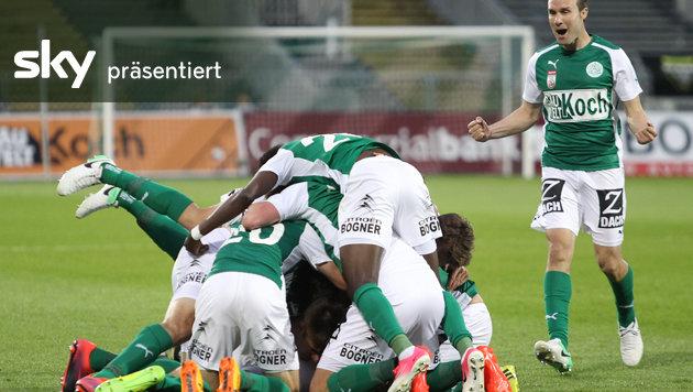 Mattersburg bezwingt Altach - das Video (Bild: GEPA)