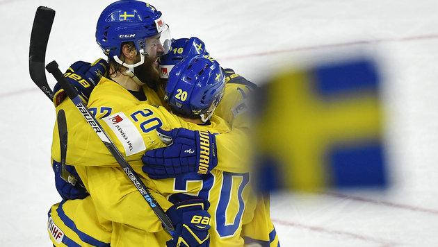 Schweden gewinnt irren Penalty-Krimi im WM-Finale! (Bild: AP)