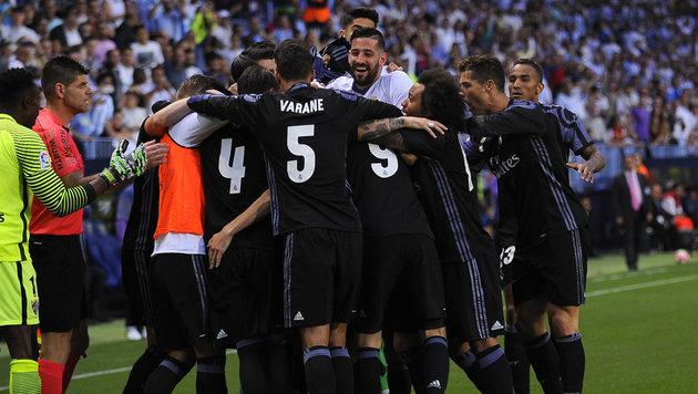 """Spanischer Meister! Real Madrid hat""""s geschafft (Bild: Daniel Tejedor)"""