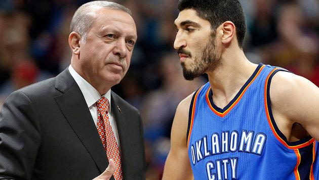 Türkischer NBA-Star vergleicht Erdogan mit Hitler (Bild: AP)