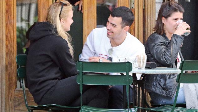 Joe Jonas und Sophie Turner (Bild: AUG/face to face)