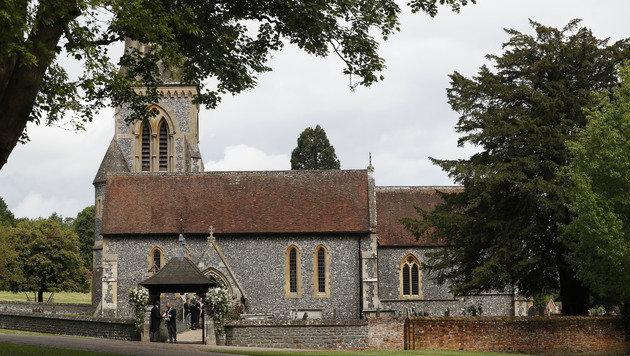 Pippa gab ihrem James in der St. Mark's Church in Englefield das Jawort. (Bild: AP)