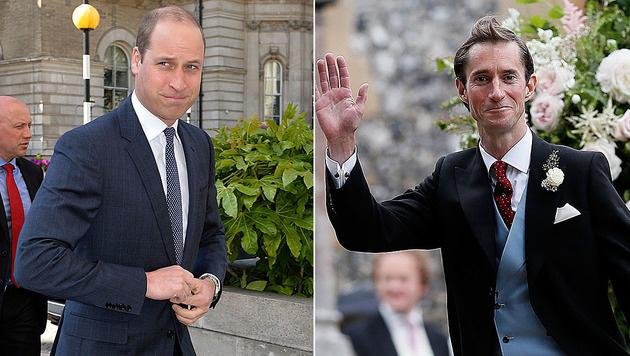 Welcher Middleton-Ehemann hat mehr Sexappeal: Prinz William oder James Matthews? (Bild: AFP, AP)