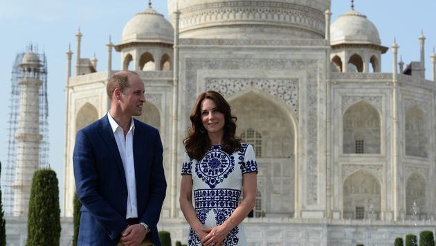 Kates Leben an der Seite von Prinz William ist sehr glamourös. (Bild: AFP)