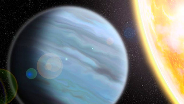 """Styropor""-Planet mit Mega-Atmosphäre entdeckt (Bild: Walter Robinson/Lehigh University)"