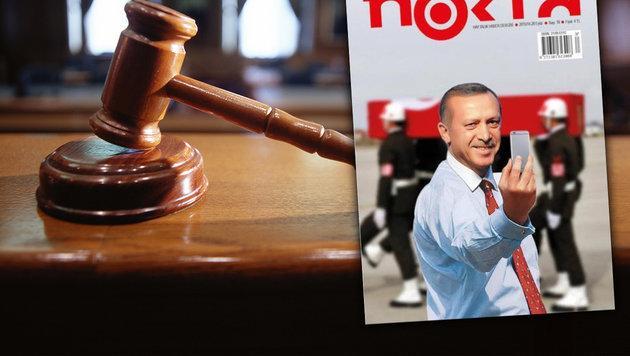 Türkei: 22 Jahre Haft für Chefs von Satiremagazin (Bild: twitter.com, thinkstockphotos.de)