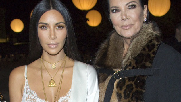 Kim Kardashian mit Mama Kris Jenner (Bild: Viennareport)