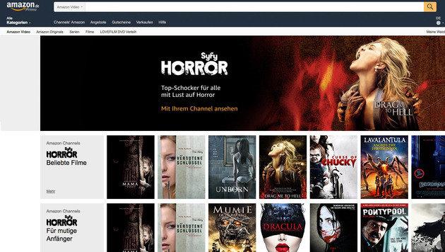 Amazon baut Videoangebot mit Bezahlkanälen aus (Bild: Amazon)