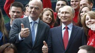 Infantino lobt RUS für Confed-Cup-Vorbereitung (Bild: AP)