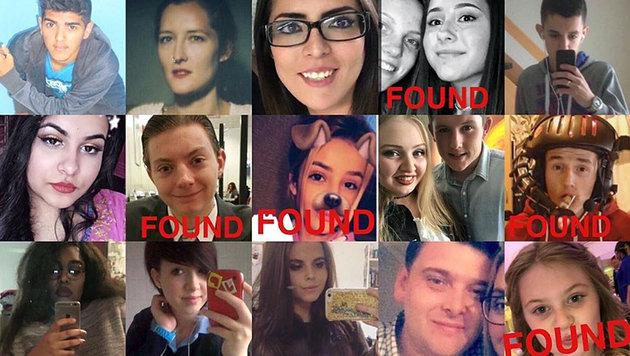 Manchester: Das sind die jungen Opfer des Blutbads (Bild: Screenshot twitter.com)