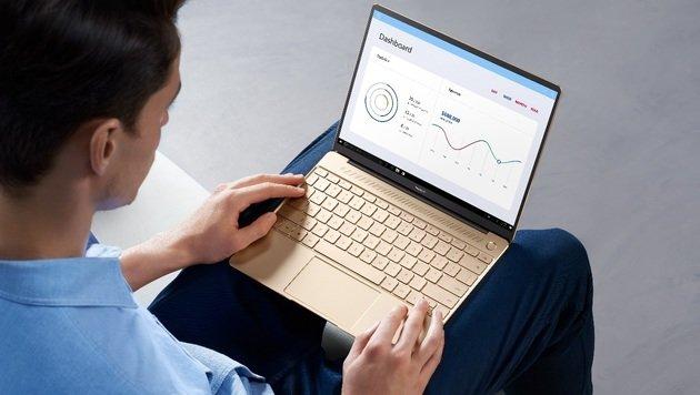 Matebooks: Huawei geht unter die Laptop-Hersteller (Bild: Huawei)