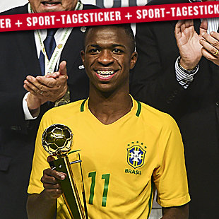 Real Madrid holt Mega-Talent Vinicius Junior (16) (Bild: AFP)