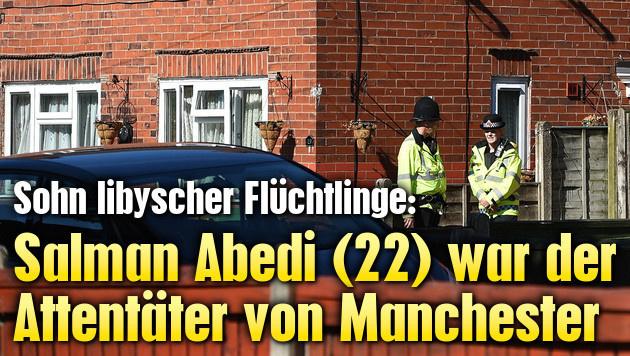 Salman Abedi (22) war der Manchester-Attentäter (Bild: AFP)