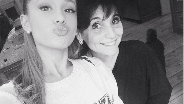 Ariana Grande und ihre Mutter Joan (Bild: Viennareport)