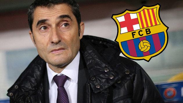 Ist er der neue Barca-Trainer? (Bild: AFP)