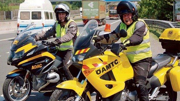 Bernd Emmrich vom ADAC und Herbert Thaler vom ÖAMTC. (Bild: ÖAMTC)