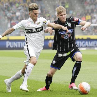 """2:1! SK Sturm Graz gewinnt """"Krimi"""" gegen Admira (Bild: APA/ERWIN SCHERIAU)"""