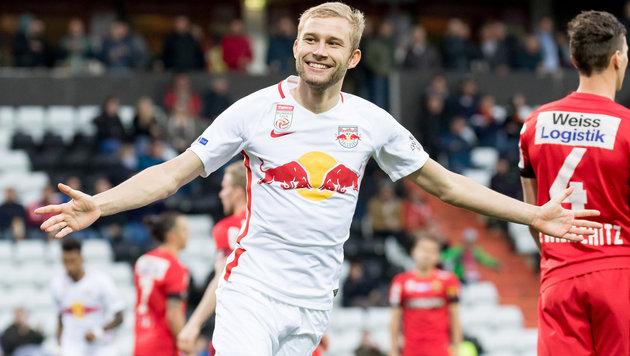 Fix! Laimer wechselt in die deutsche Bundesliga (Bild: APA/EXPA/SEBASTIAN PUCHER)