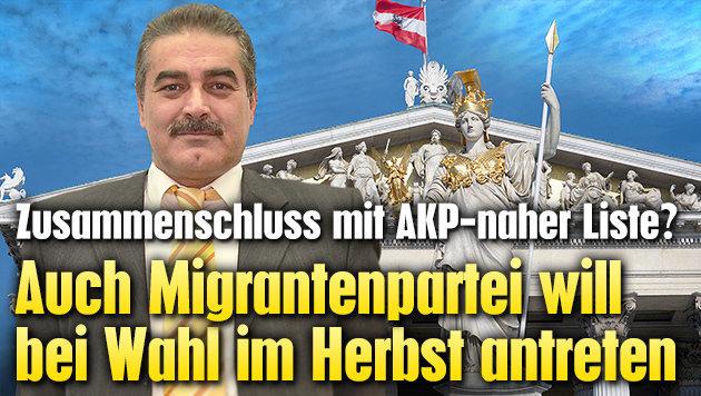 Auch Migrantenpartei will bei Wahl antreten (Bild: APA/ROLAND SCHLAGER, adnandincer.com, thinkstockphotos.de)