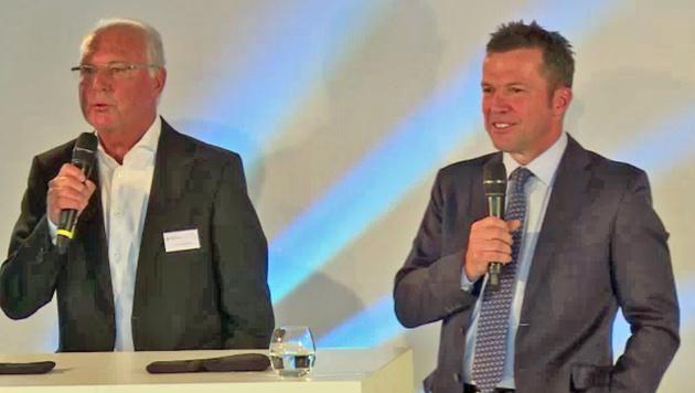 Beckenbauer: Rüge an Matthäus 27 Jahre danach (Bild: SID)