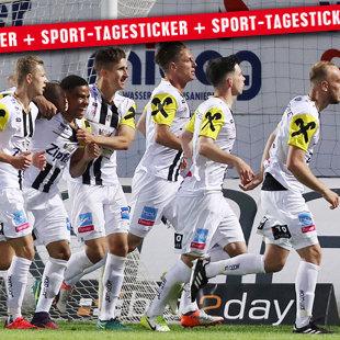 Fünf LASK-Spieler im Erste-Liga-Team der Saison (Bild: GEPA)
