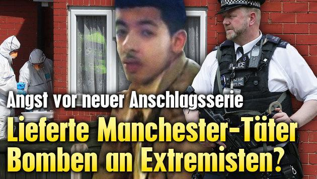 Lieferte Manchester-Täter Bomben an Extremisten?
